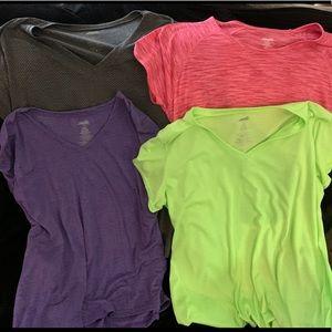 Avia women's performance v-neck t-shirts